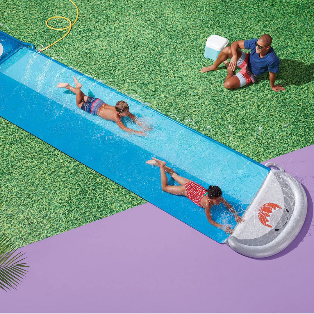 Ramp Double Water Slide