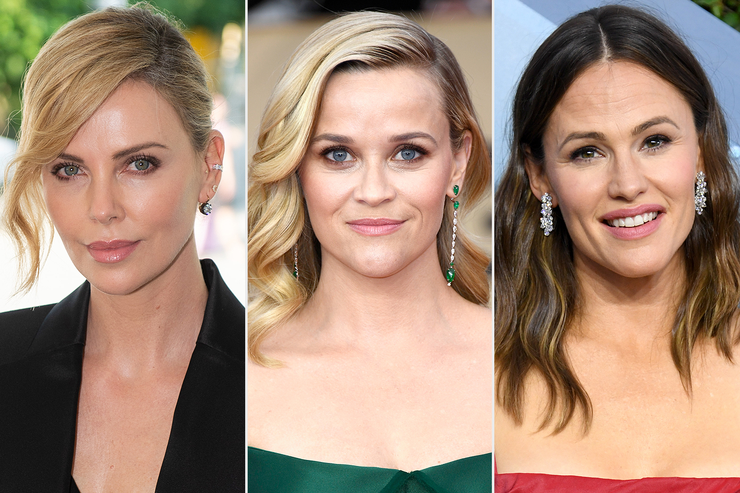 Charlize Theron, Reese Witherspoon, Jennifer Garner