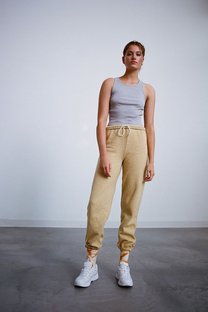 Urban Renewal Recycled Overdyed Heathered Sweatpant urba outfitters