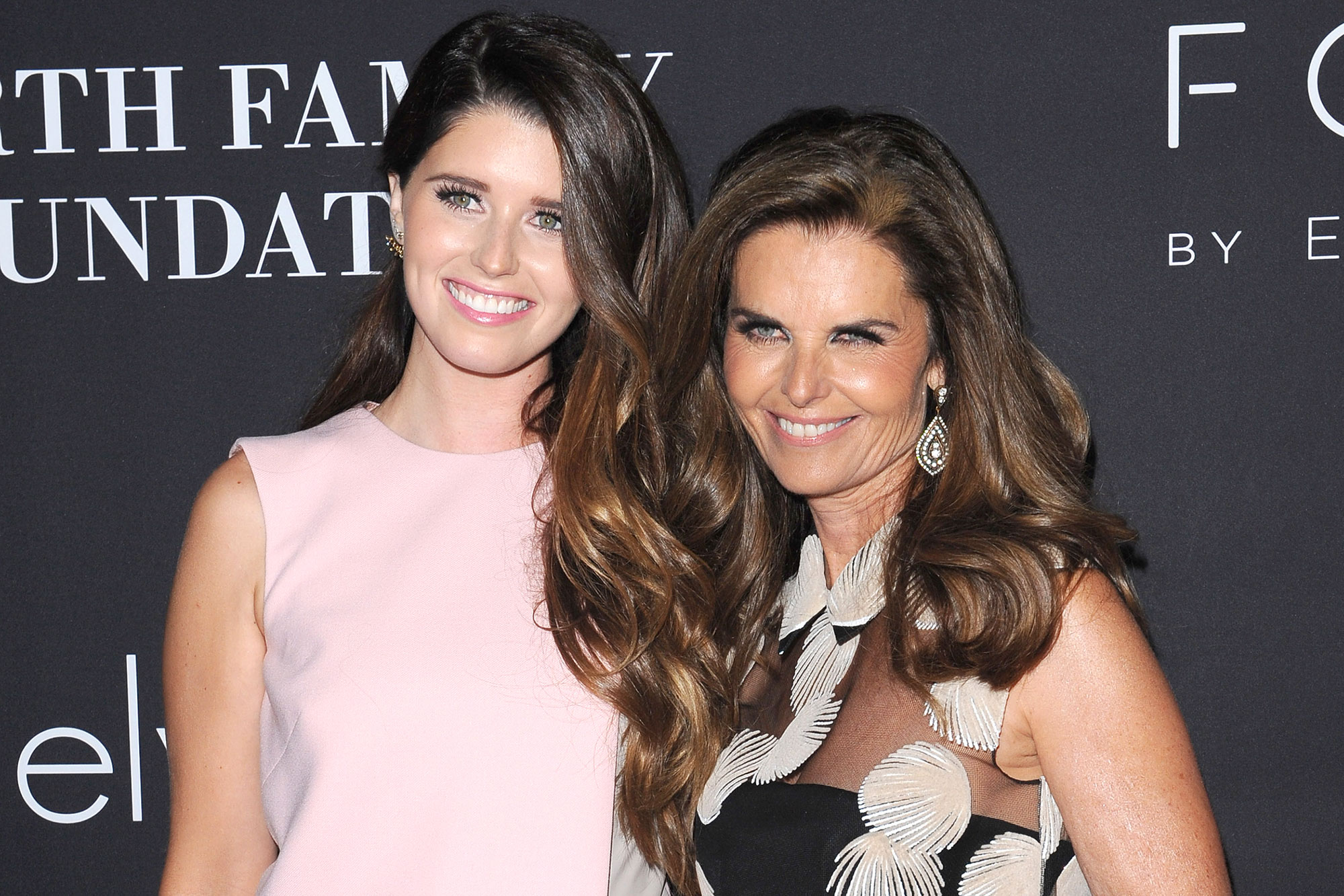 Katherine and Maria Shriver
