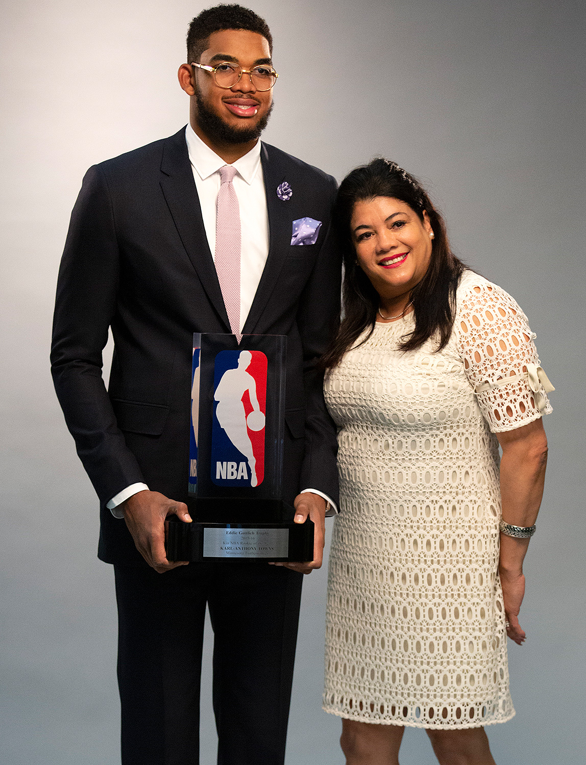 Jacqueline Towns, Karl Anthony Towns