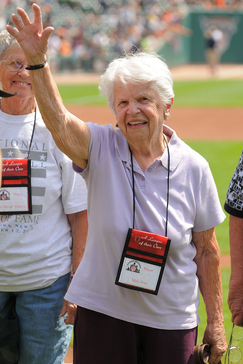 Mary Pratt Last surviving member of Rockford Peaches, of 'League of Their Own' fame, dies at 101