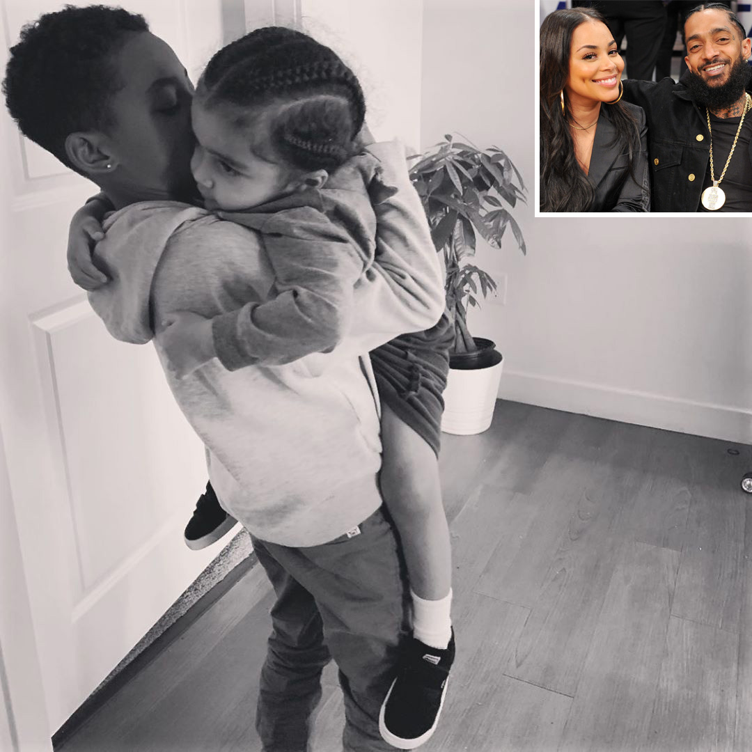 Lauren London Shares Photo of Sons on Mother's Day Over One Year After Nipsey Hussle's Death