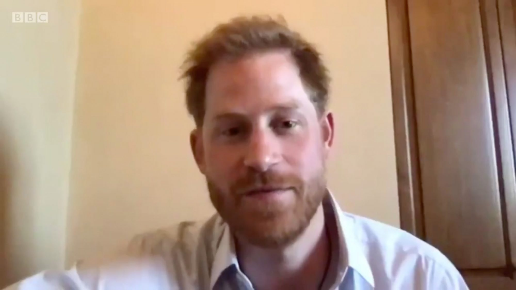 Prince Harry on BBC The One