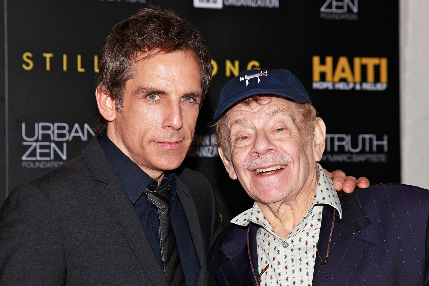 Ben Stiller and Jerry Stiller