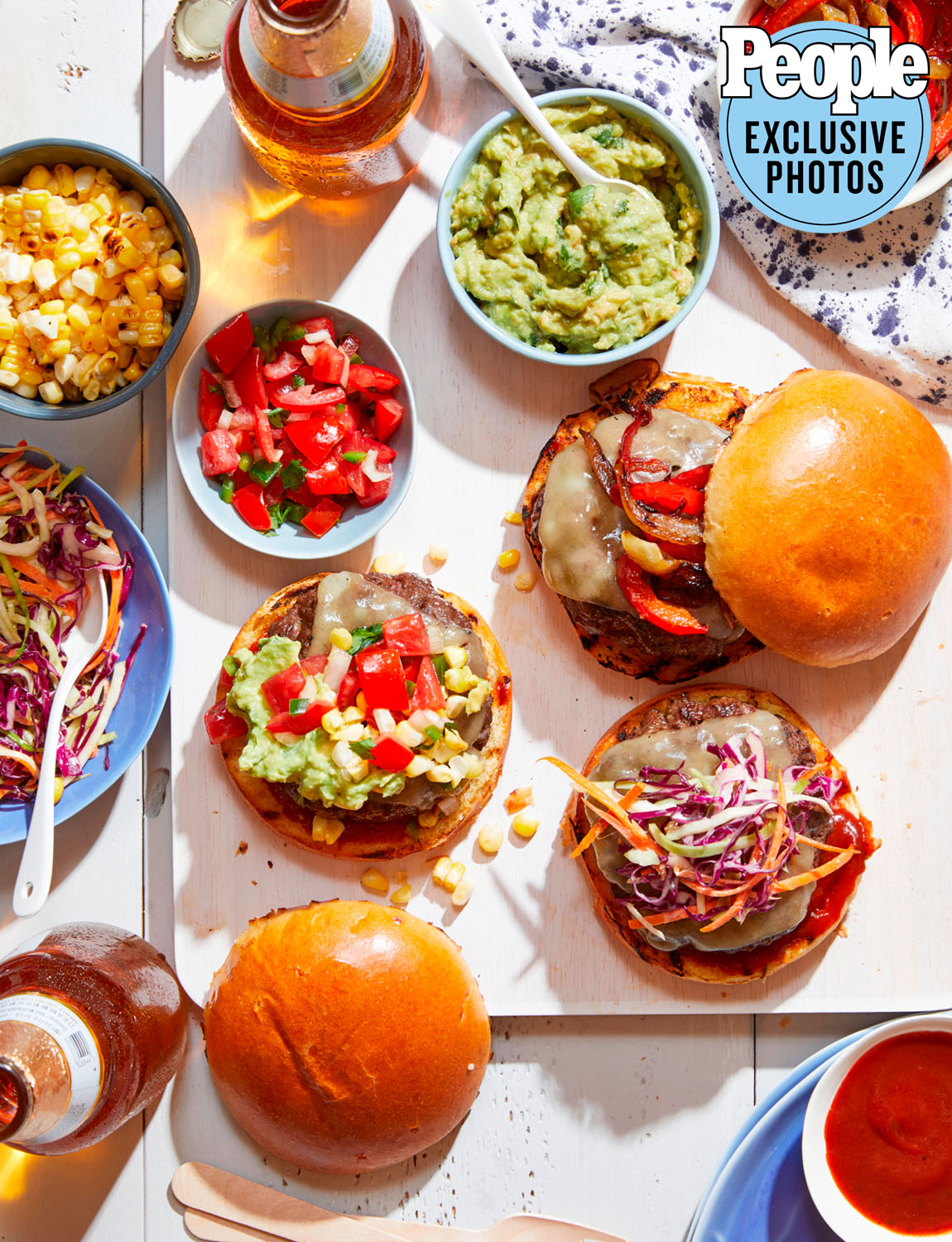 Gaby Dalkin's Grilled Smashed Burgers
