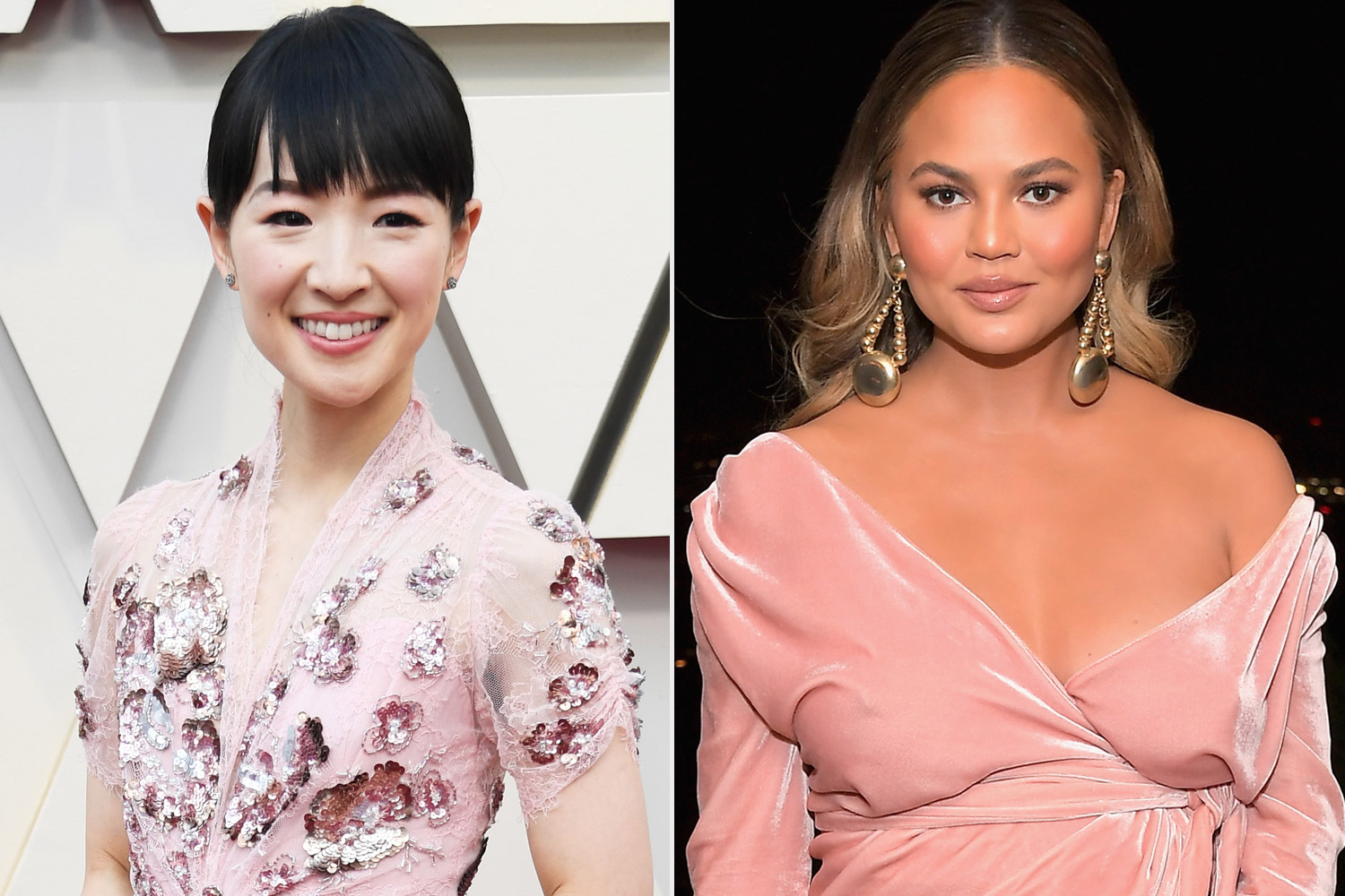 Chrissy Teigen and Marie Kondo