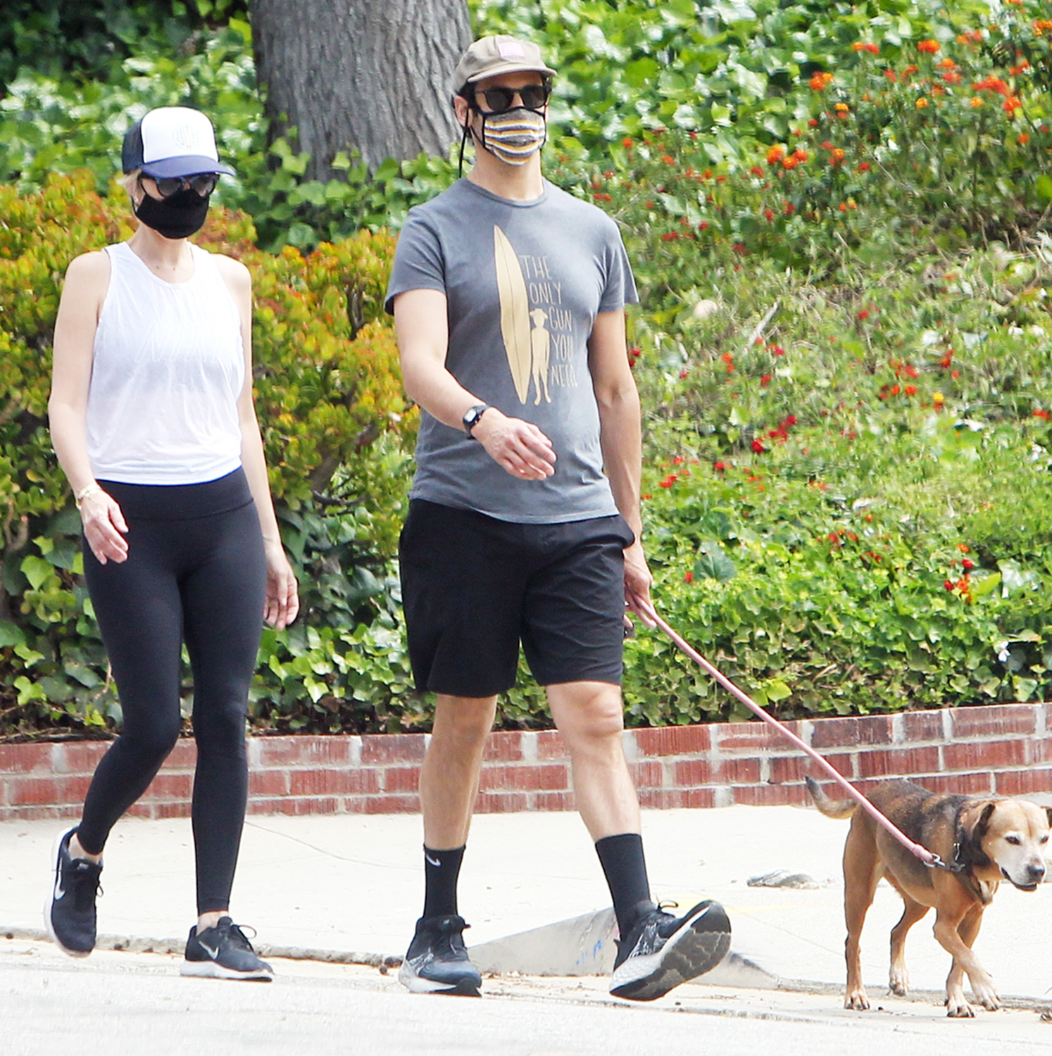 Kristin Wiig spotted walking her dog with boyfriend Avi Rothman in Los Angeles