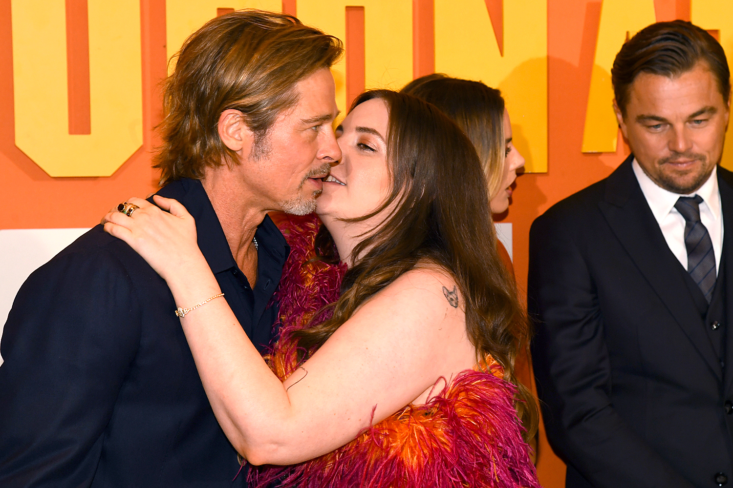 Brad Pitt and Lena Dunham