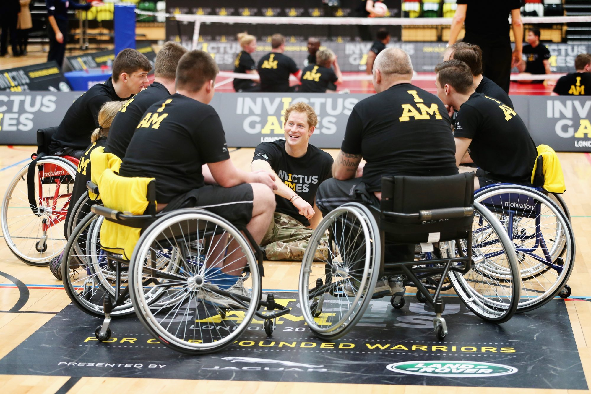 Prince Harry Launches The Invictus Games