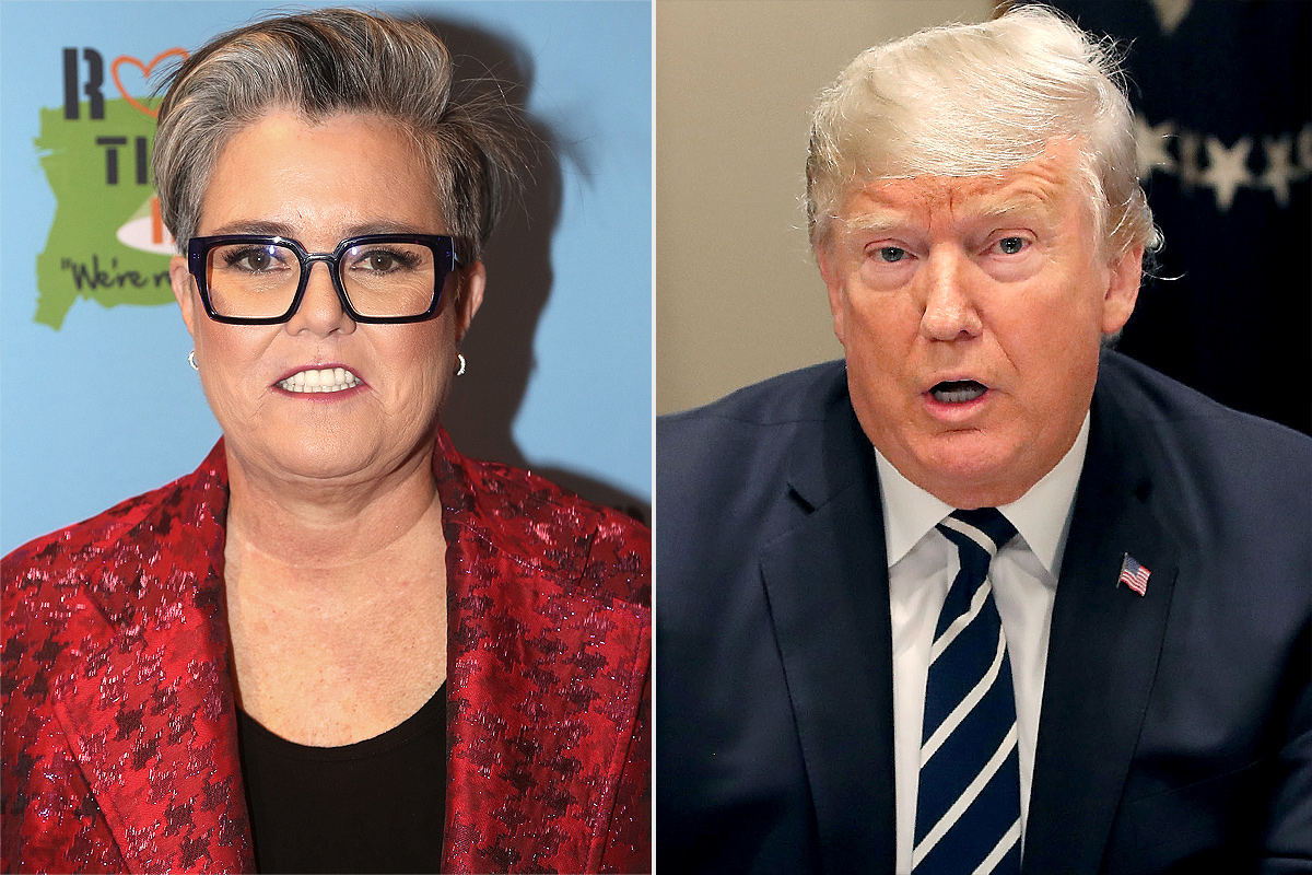 Rosie O'Donnell on feud with Donald Trump