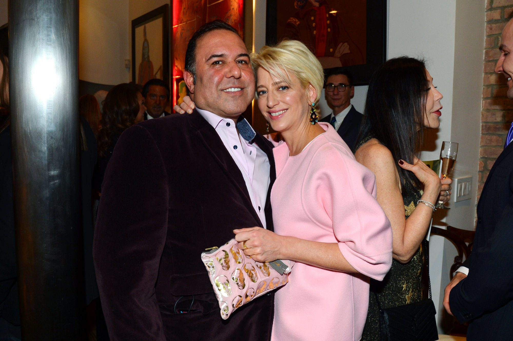 John Mahdessian and Dorinda Medley