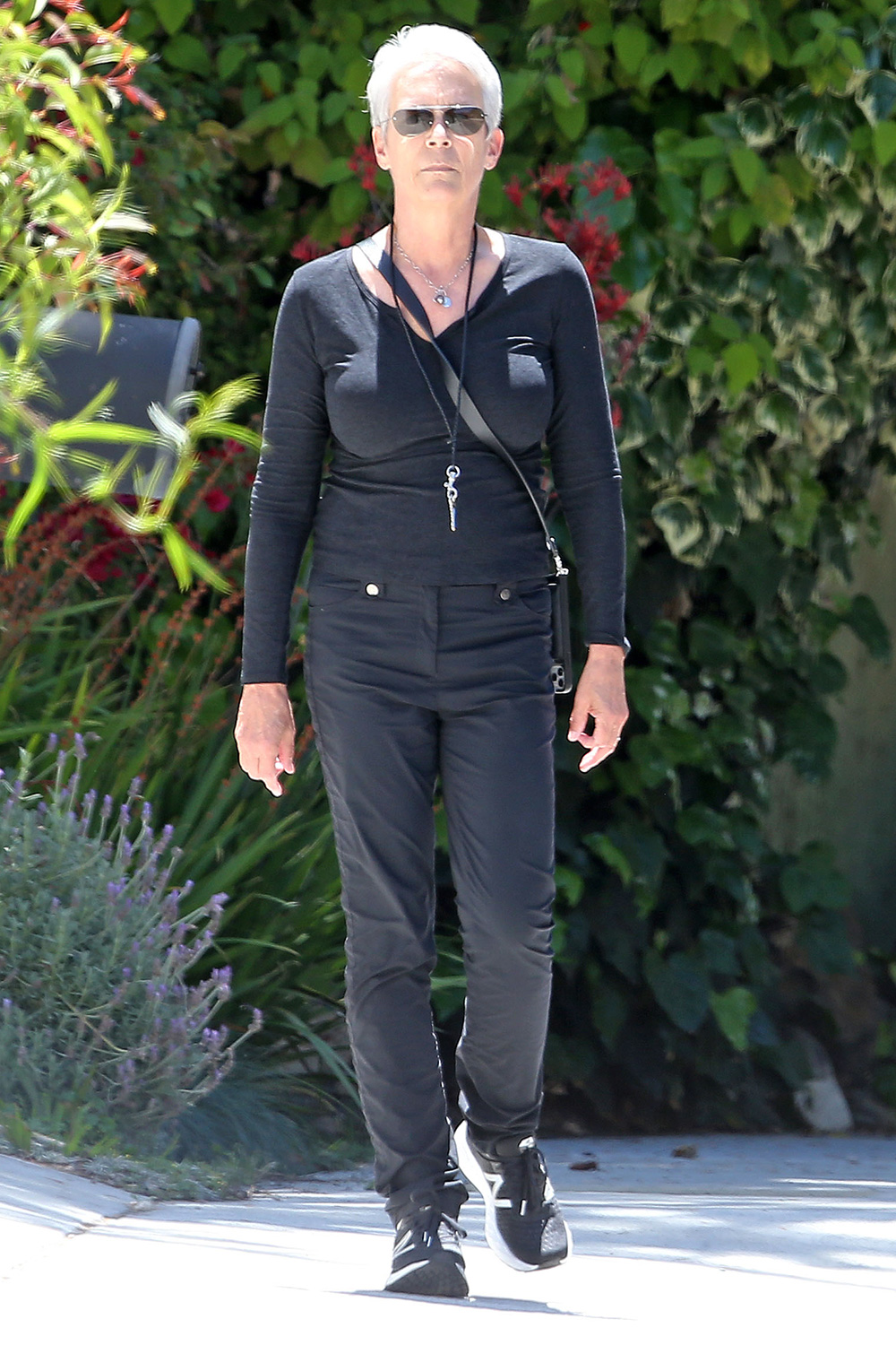Jamie Lee Curtis out and about, Los Angeles, USA - 13 May 2020