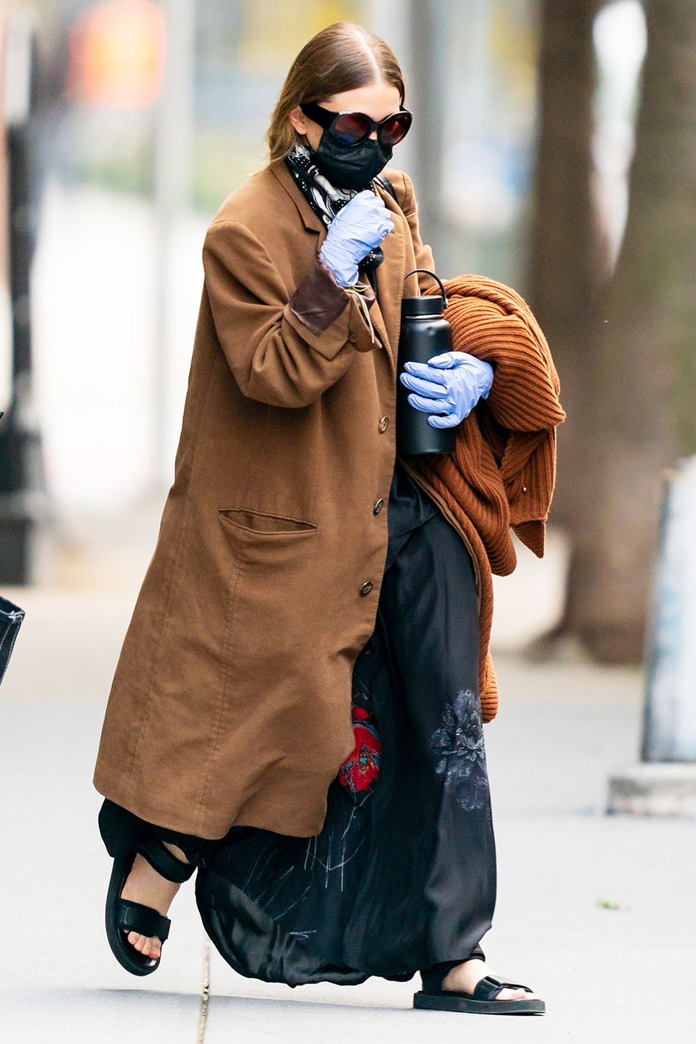 Ashley Olsen is seen in SoHo on May 14, 2020 in New York City