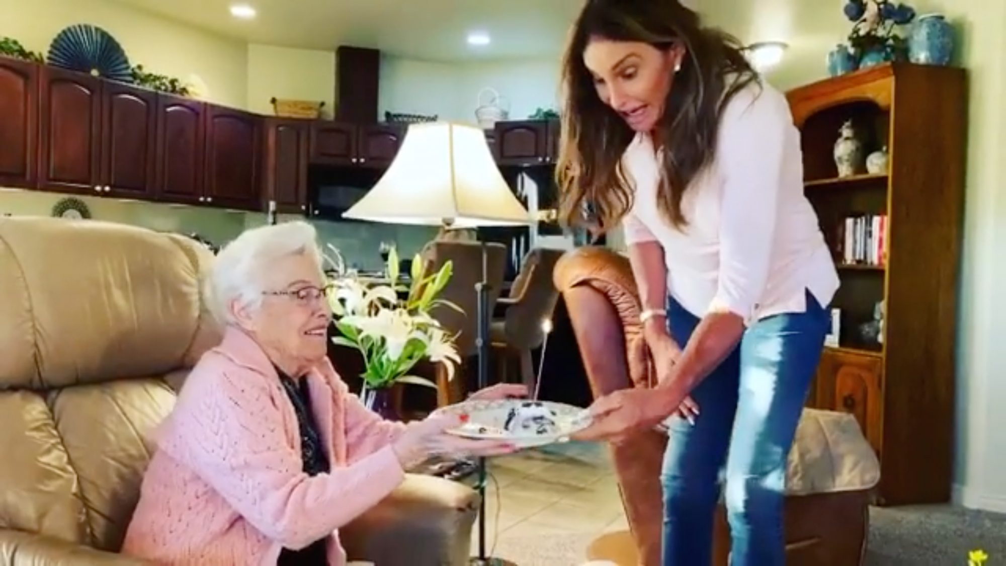 Caitlynn Jenner Celebrates Her Mother's 94th Birthday During Quarantine