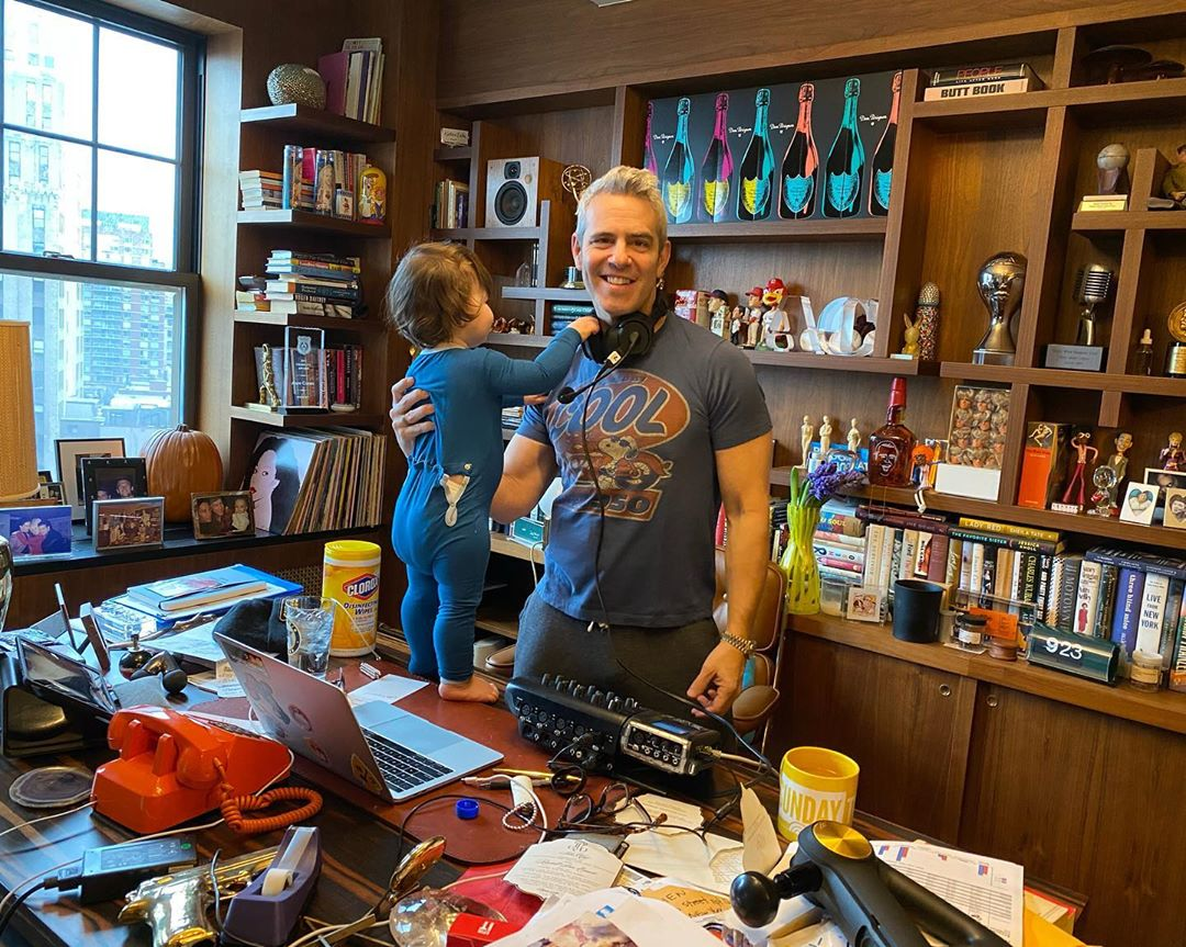 Andy Cohen and son