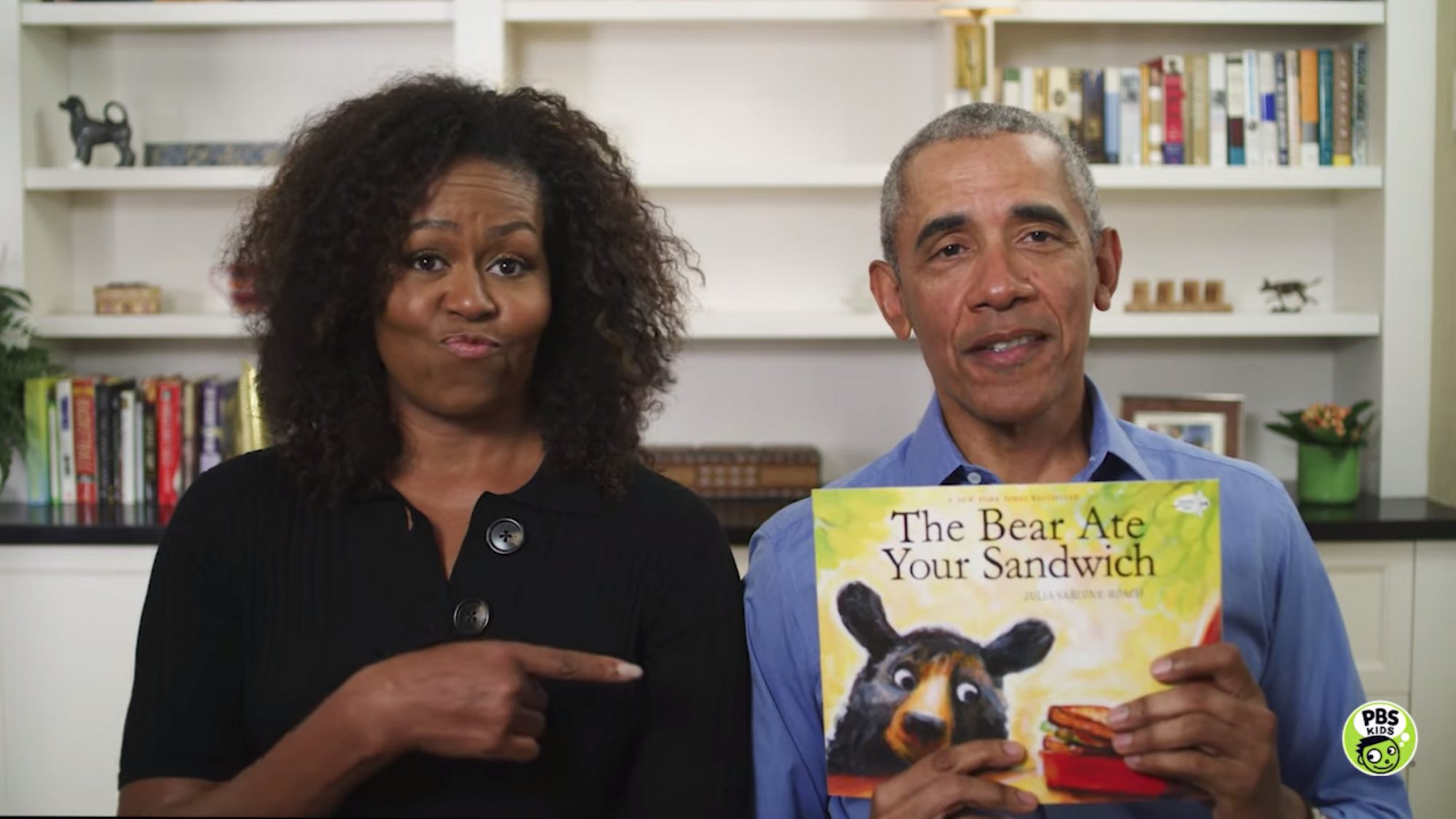 READ ALONG with MICHELLE & BARACK OBAMA