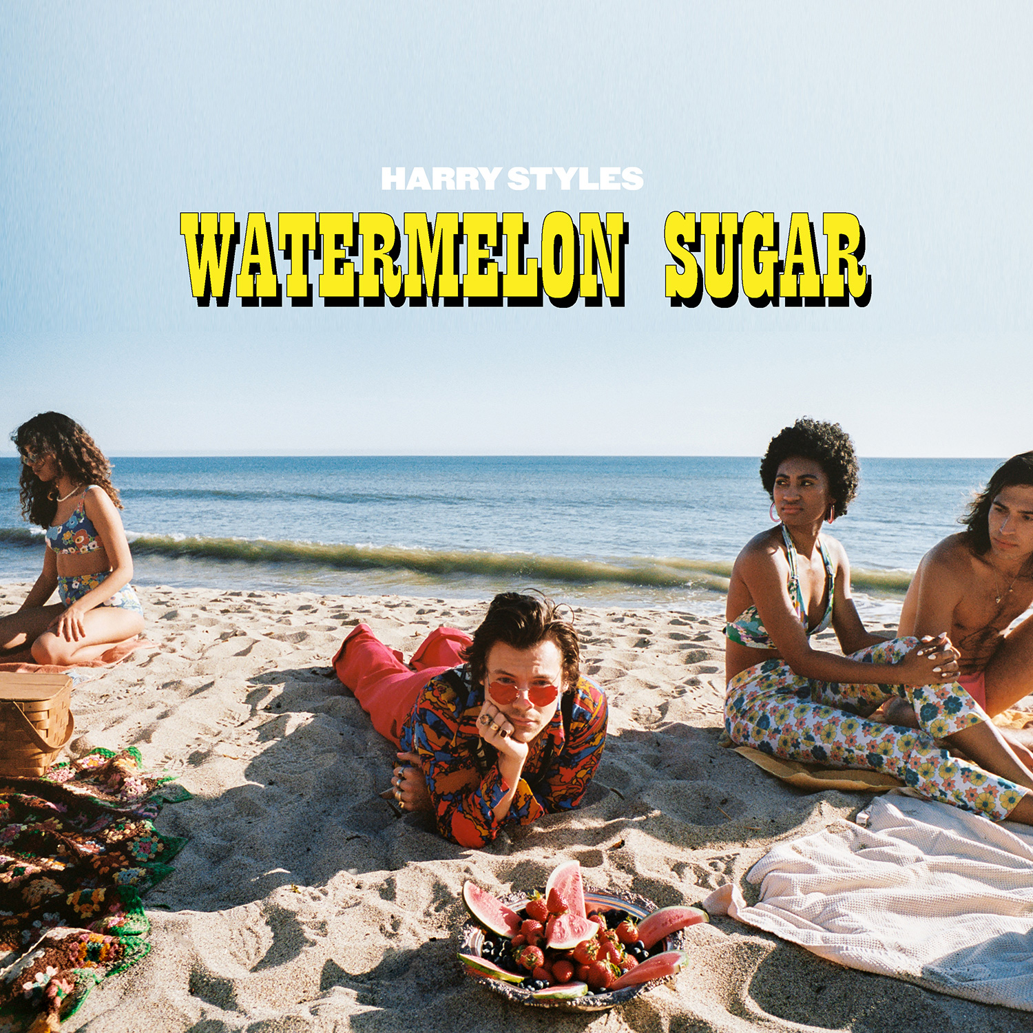 Harry Styles Premieres 'Watermelon Sugar' Music Video