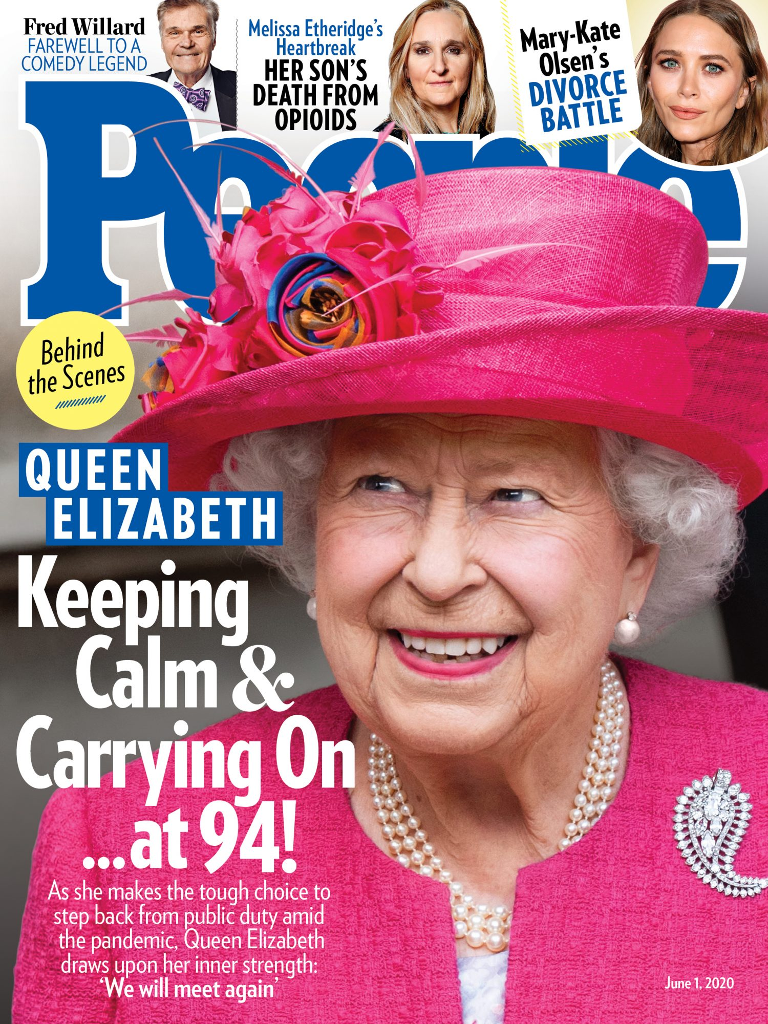 queen elizabeth on cover of people magazine