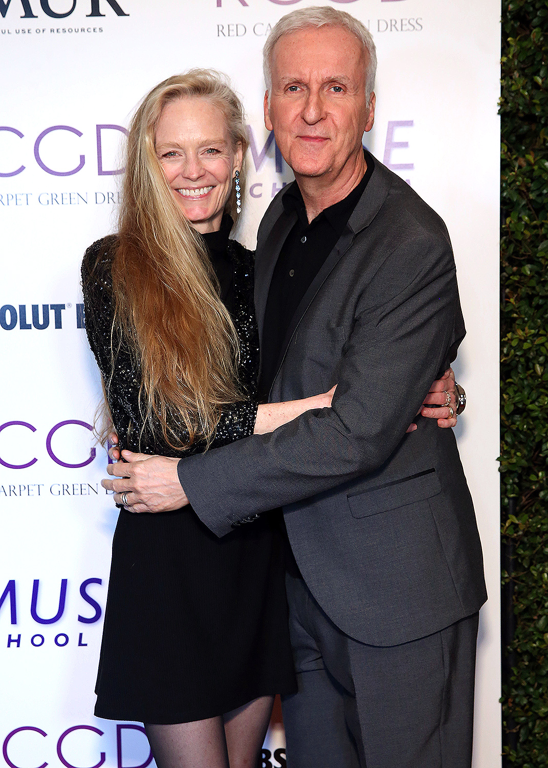 Suzy Amis Cameron and James Cameron attend Suzy Amis Cameron's 10-Year