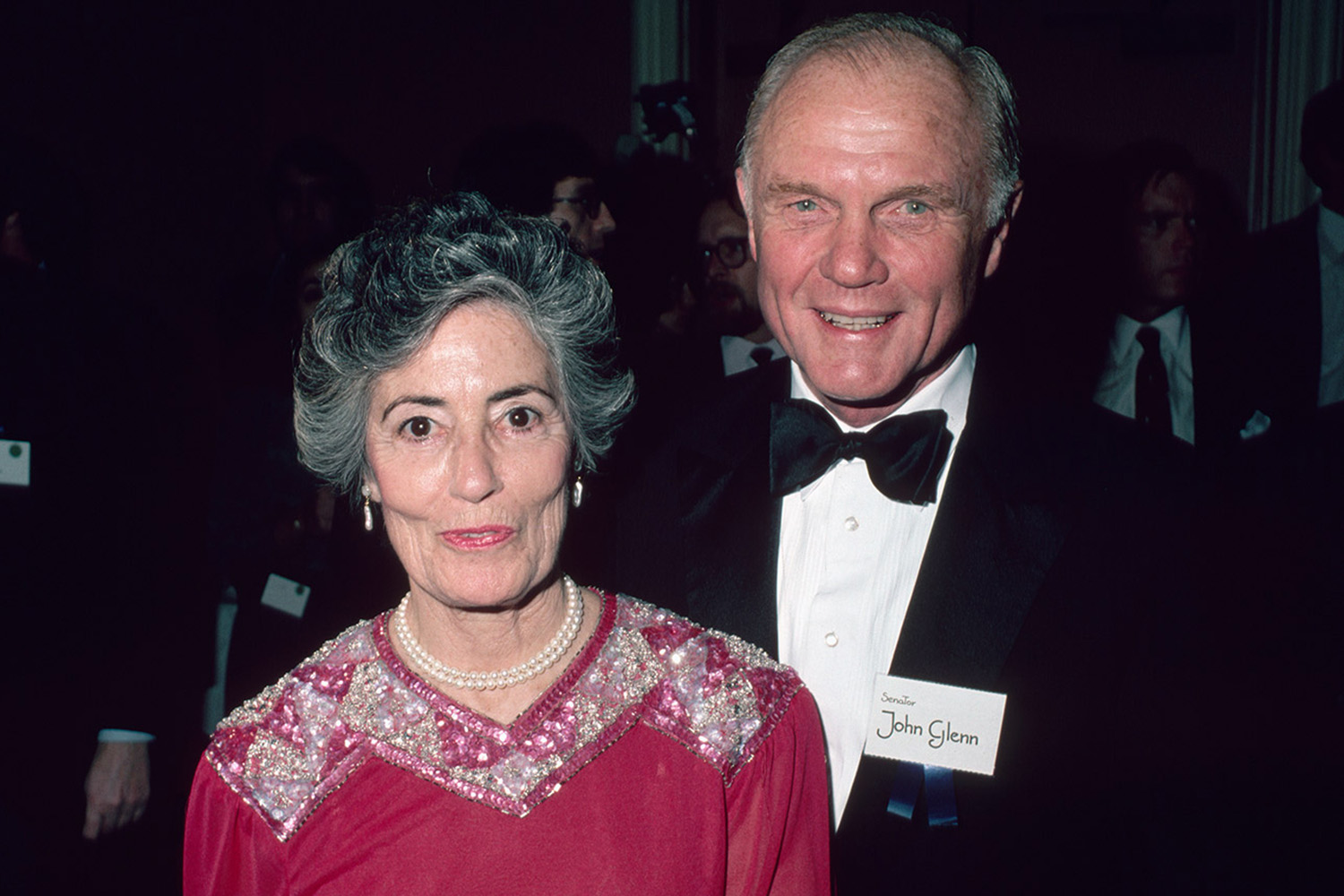 Annie and John Glenn
