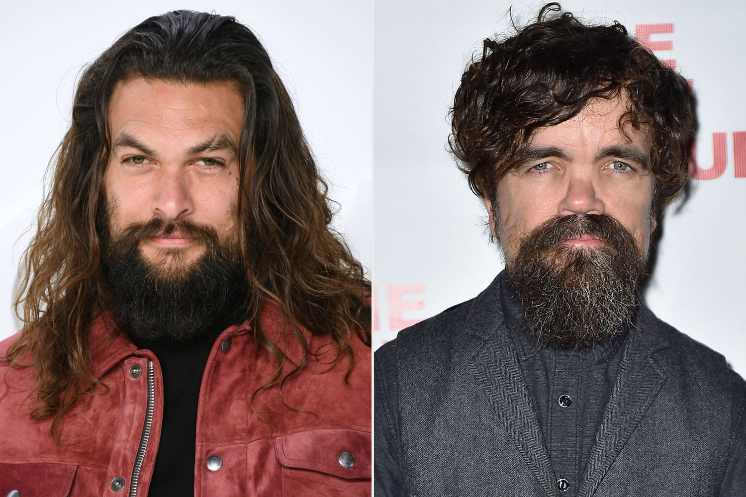 Jason Momoa and Peter Dinklage