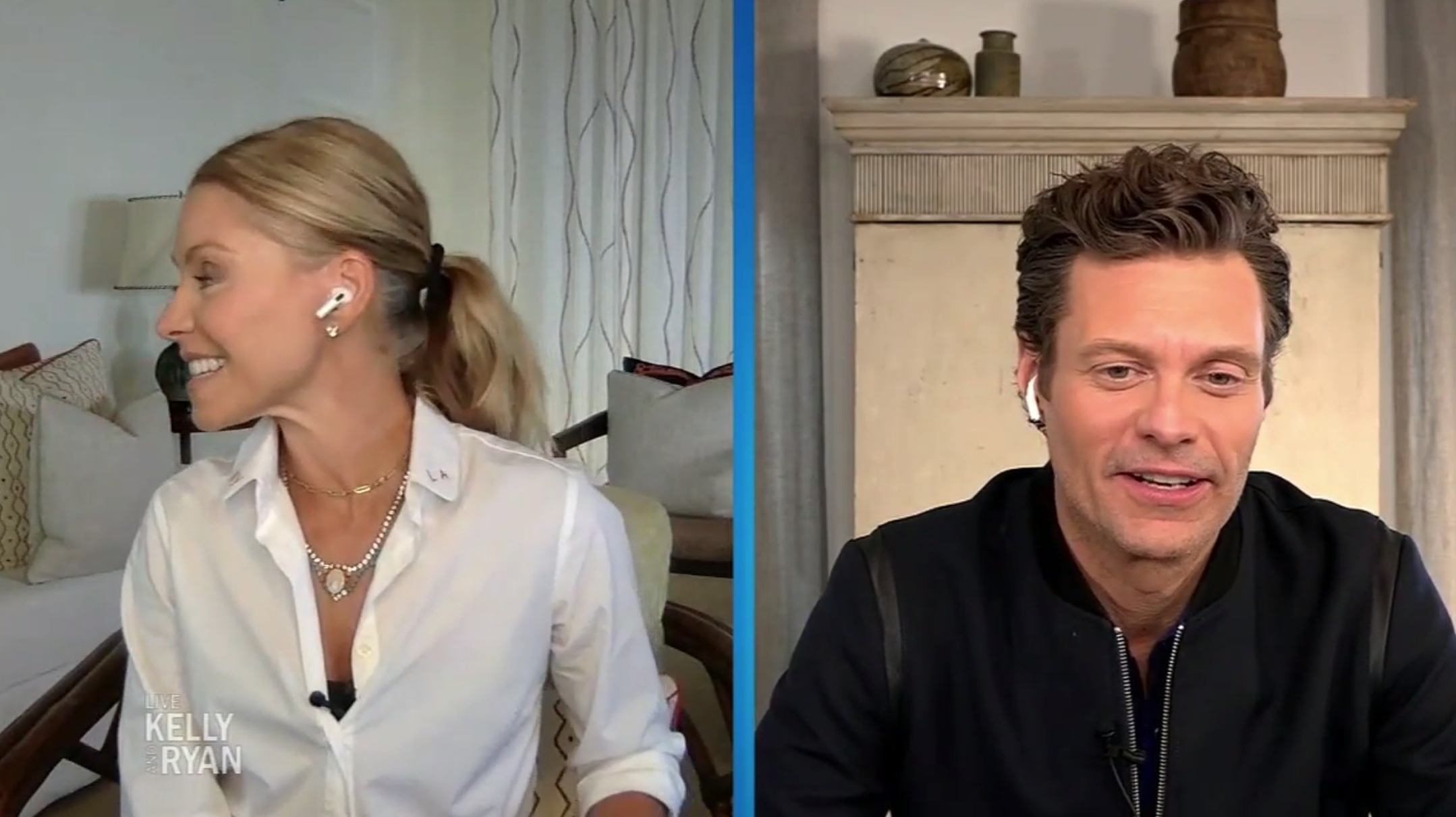 Kelly Ripa; Ryan Seacrest; Live Kelly and Ryan