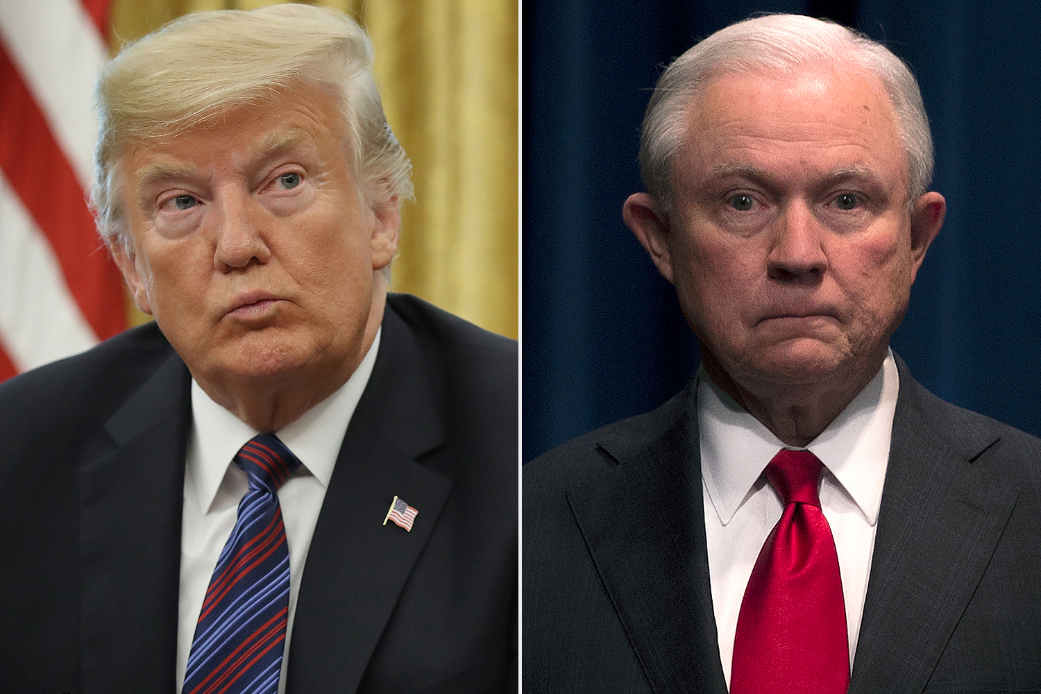Donald Trump, Jeff Sessions