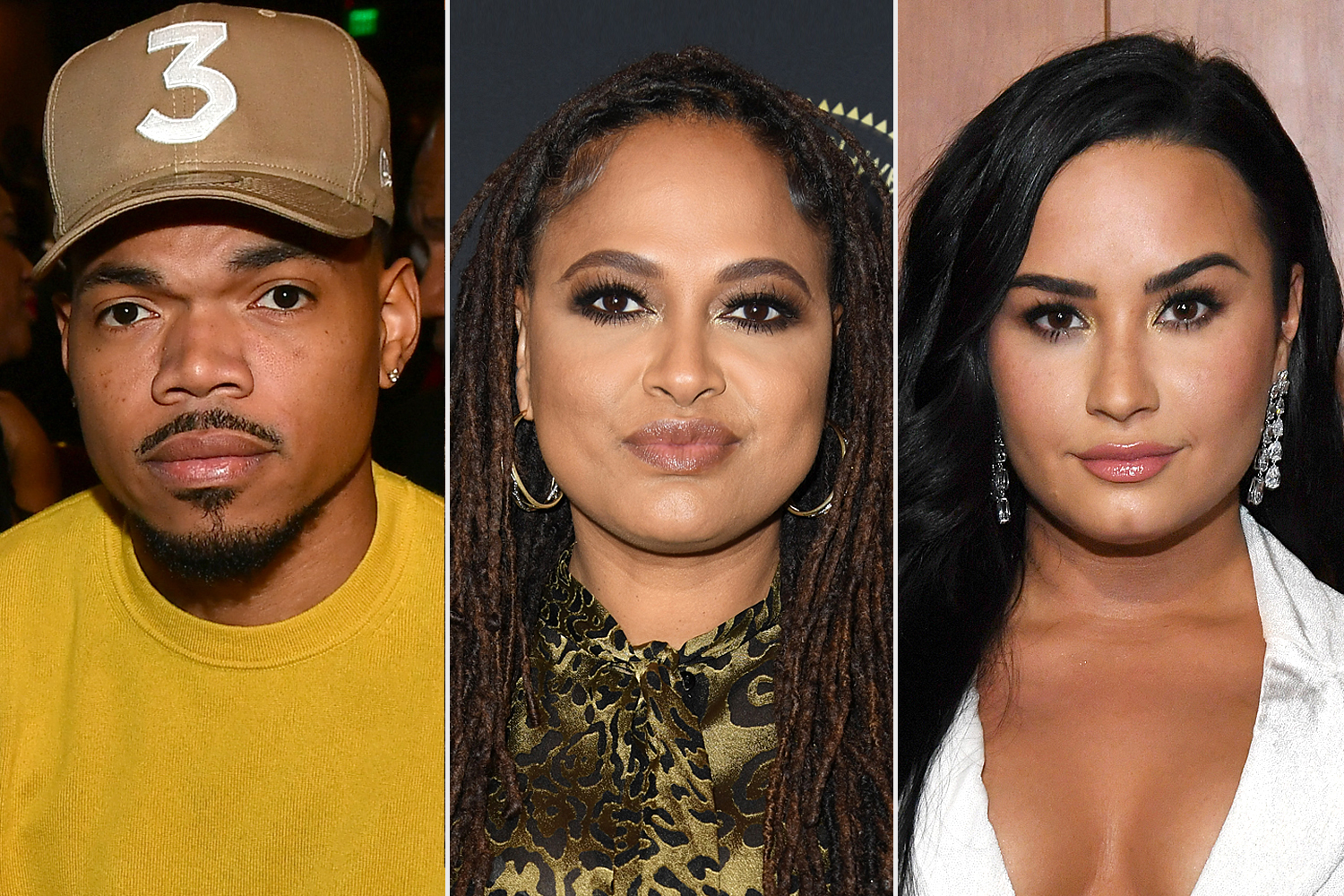 Chance The Rapper; Ava DuVernay; Demi Lovato
