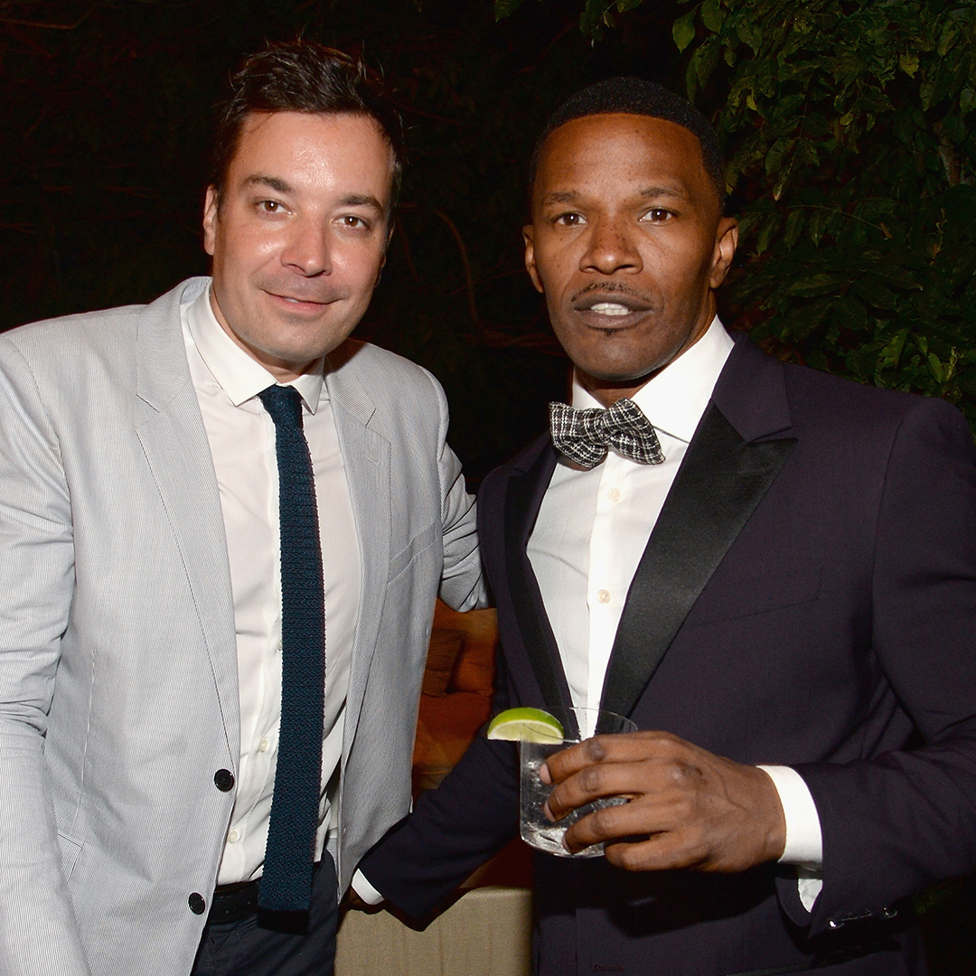 Jimmy Fallon and Jamie Foxx