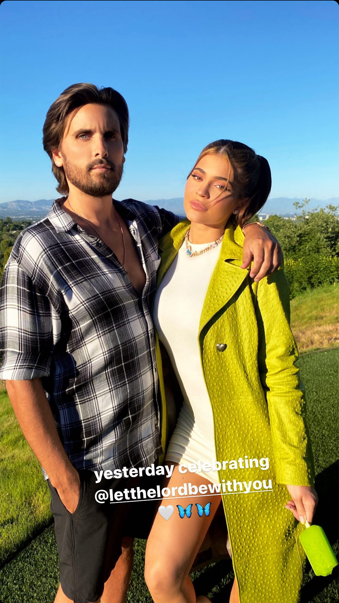 Scot Disick and Kylie jenner