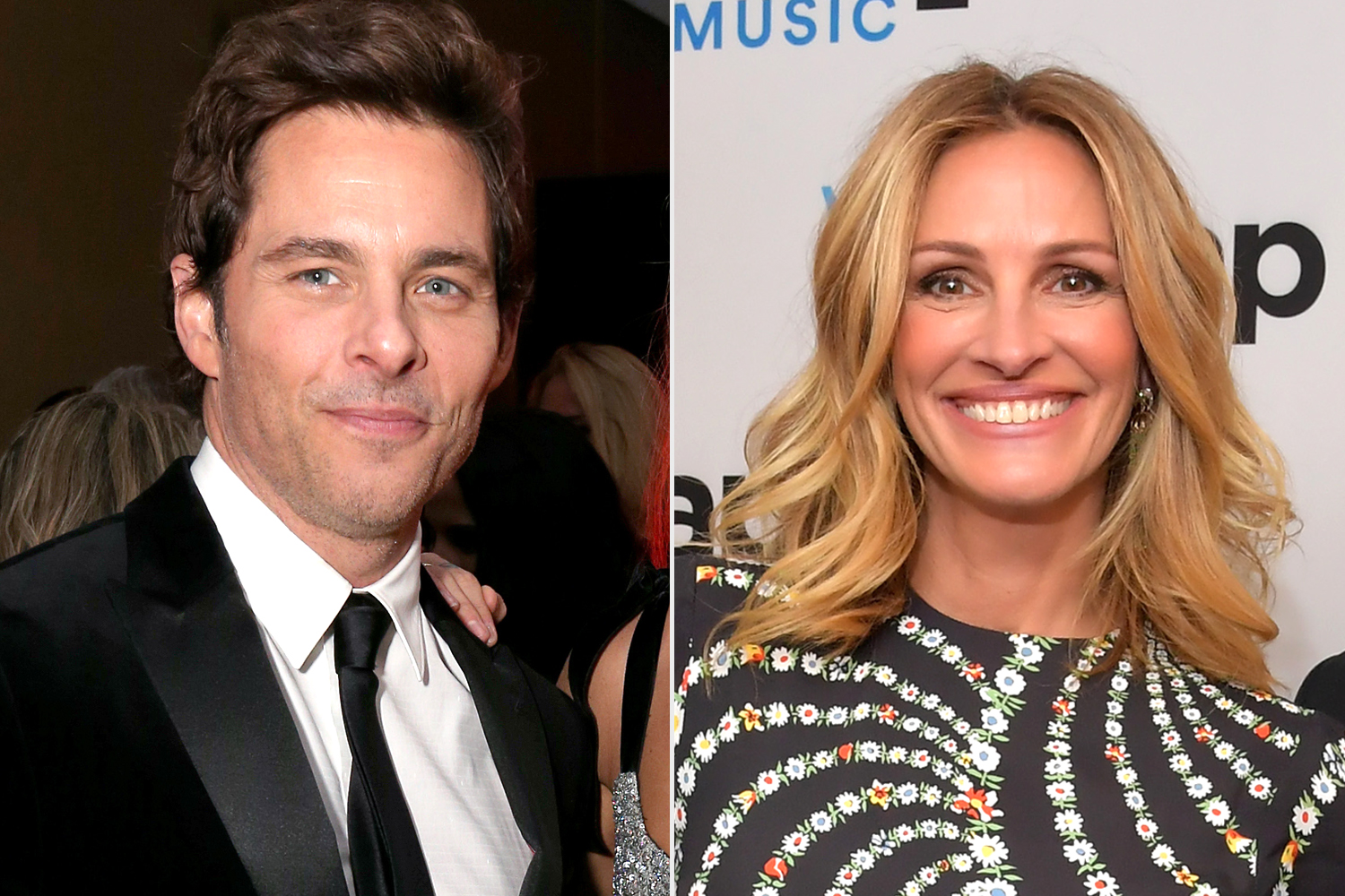James Marsden; Julia Roberts