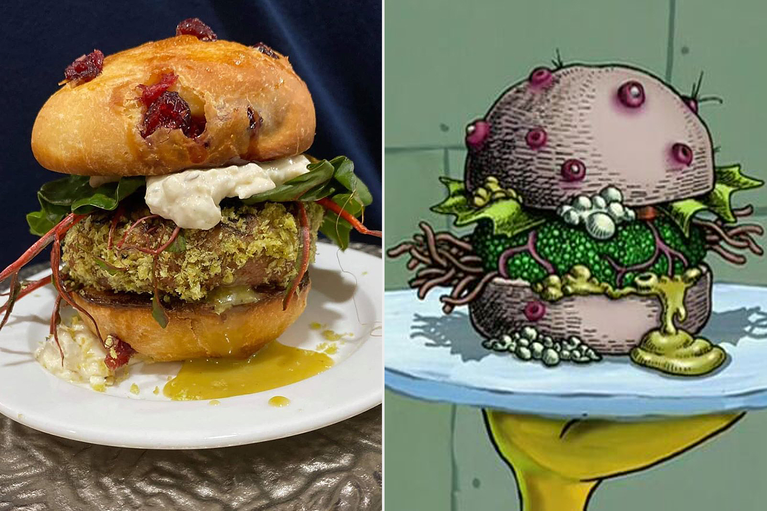 spongebob nasty patty