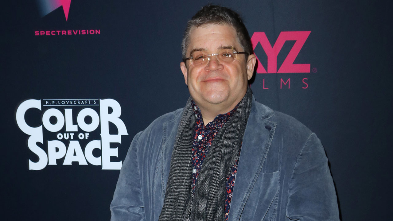 Comedian Patton Oswalt Talks Homeschooling and Performing From His Front Lawn
