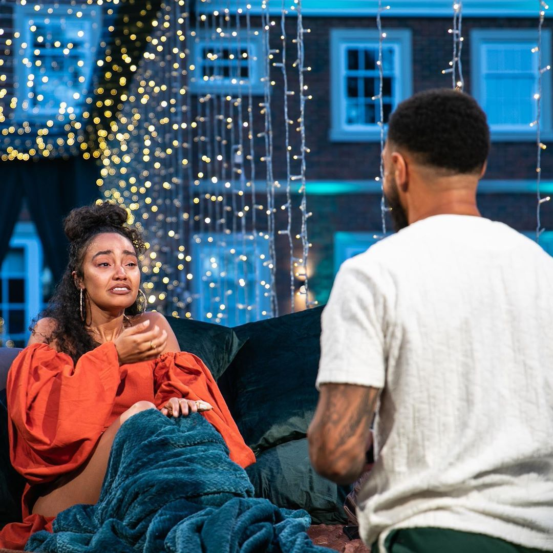 Andre Gray proposes to Leigh-Anne Pinnock Pinnock