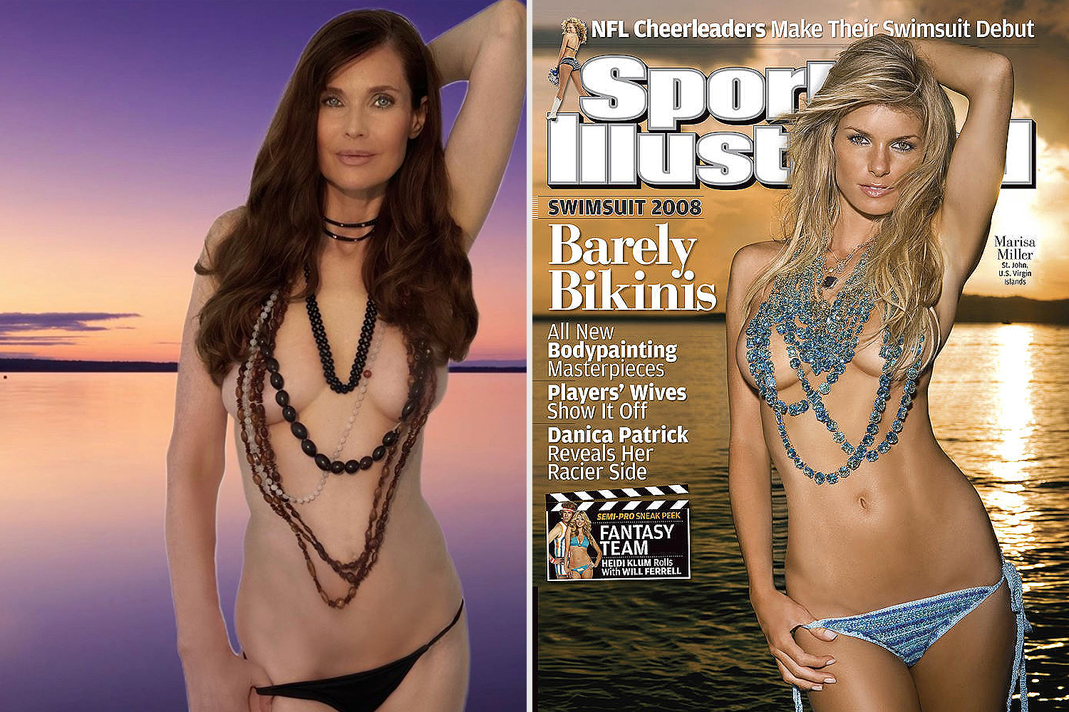 Sports Illustrated Carol Alt Marissa Miller
