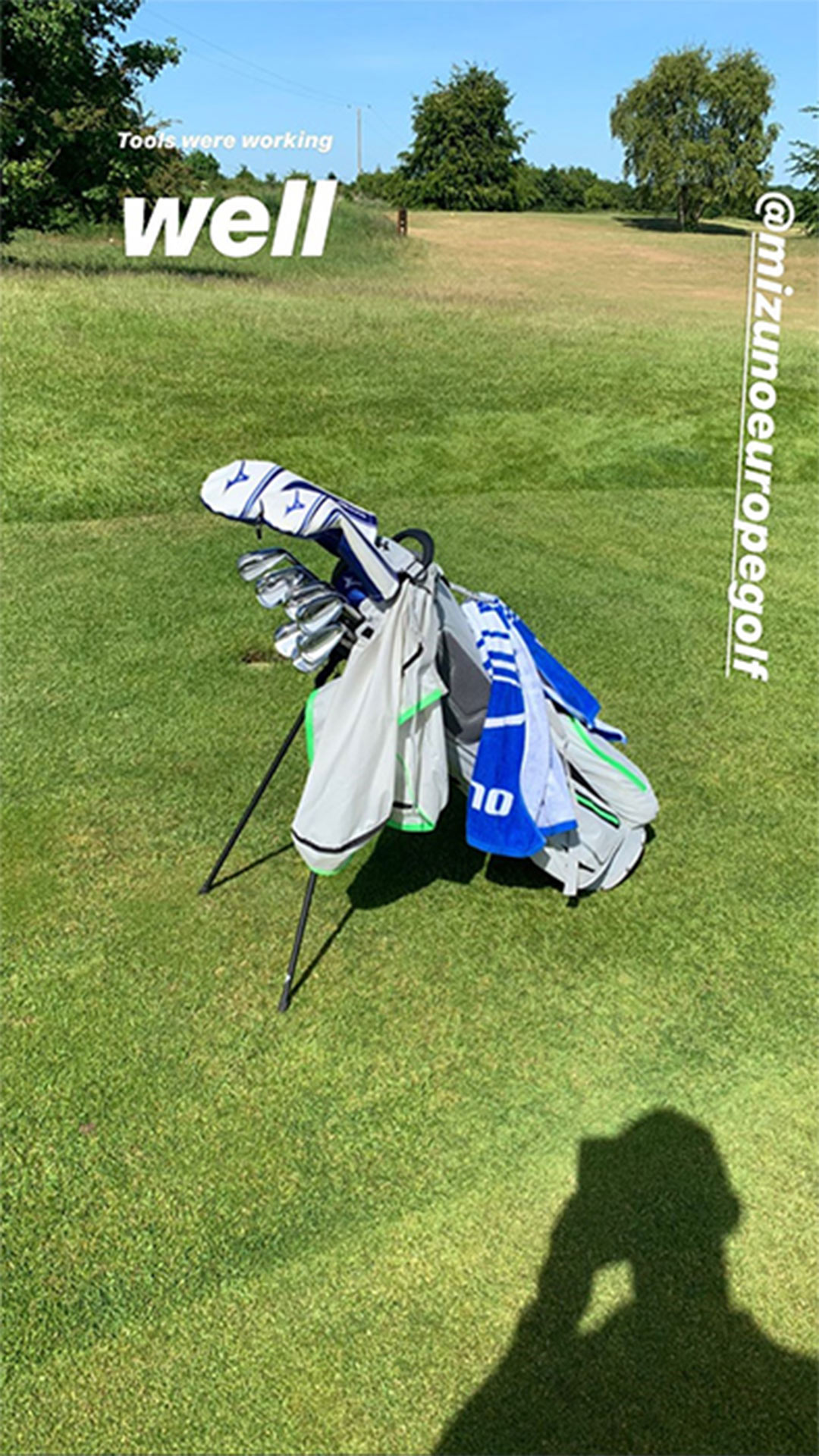 Mike Tindall's golf clubs