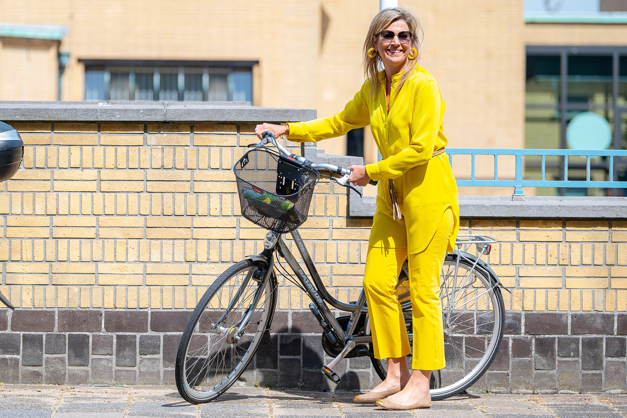 Queen Maxima Visits The Art Museum At The Hague, The Netherlands
