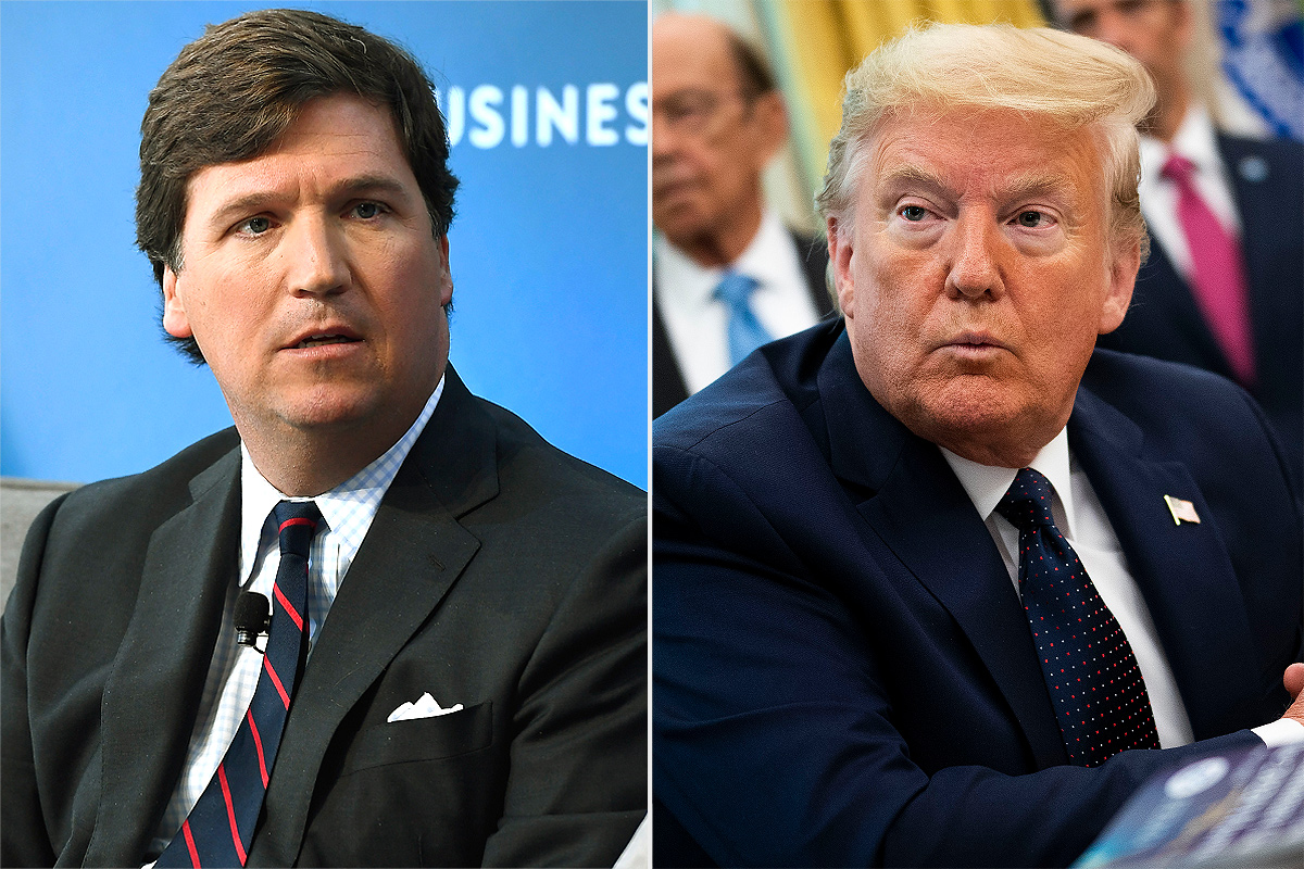 tucker carlson, donald trump