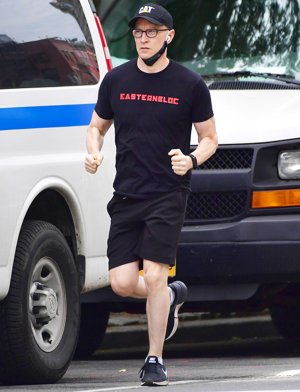 Anderson Cooper Steps Out For a Jog on His Birthday in New York City