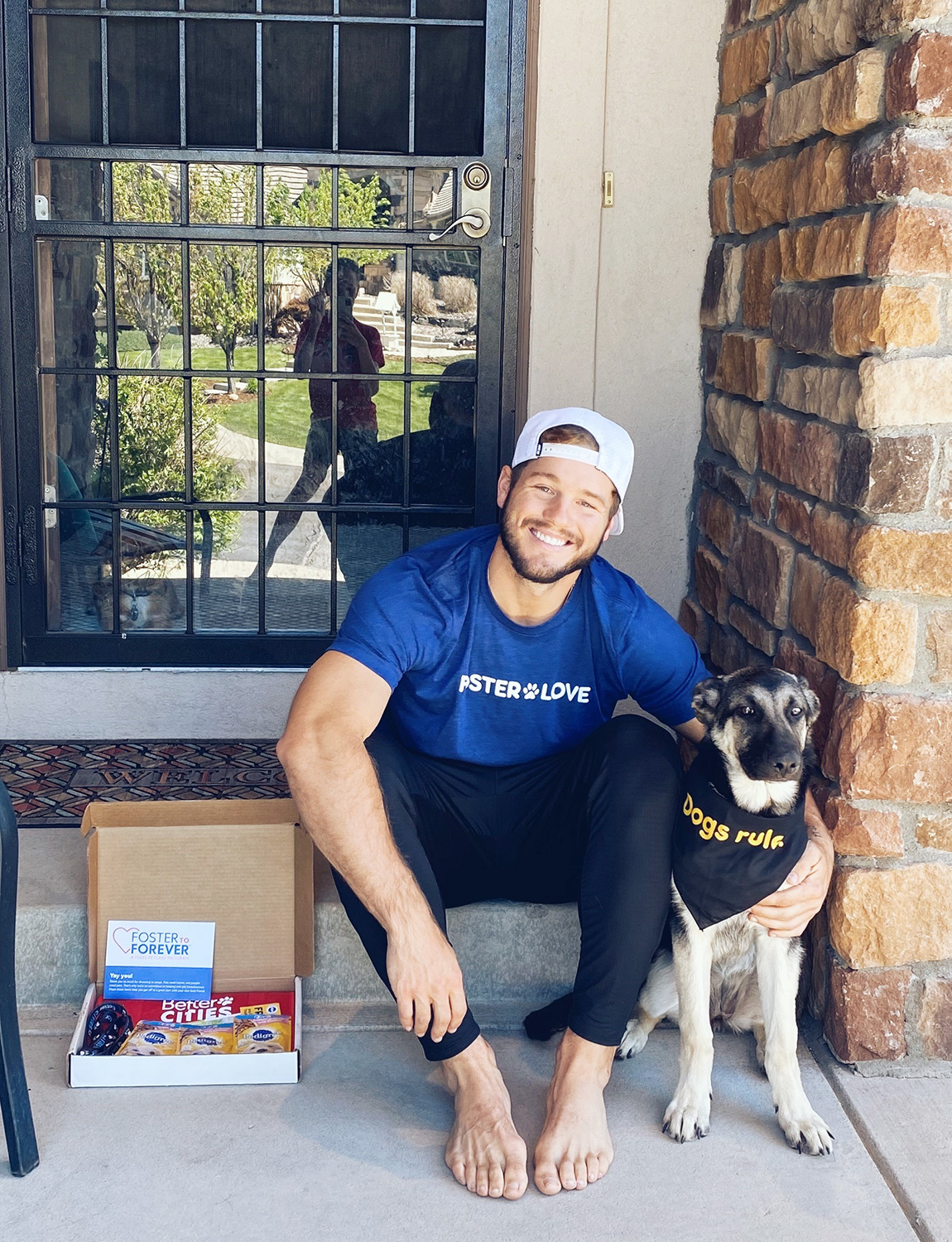 Colton Underwood and Zooka support Mars Petcare's FOSTER TO FOREVER™ program to encourage pet adoptions