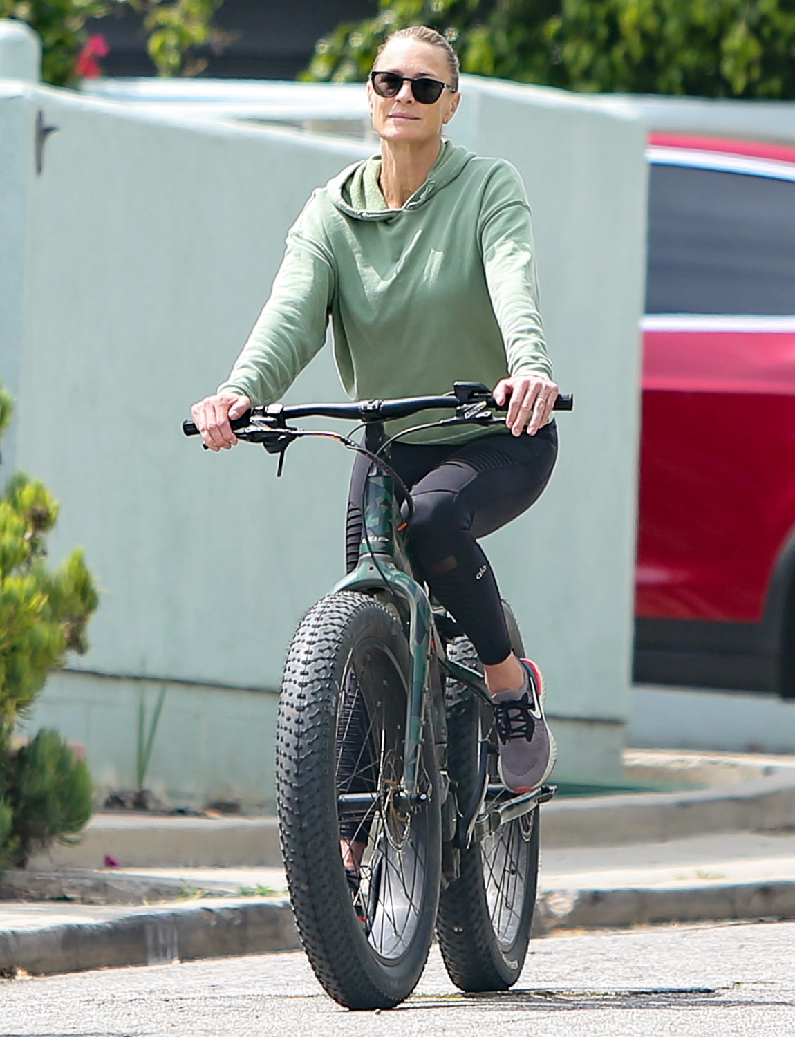Robin Wright is seen on June 02, 2020 in Los Angeles, California