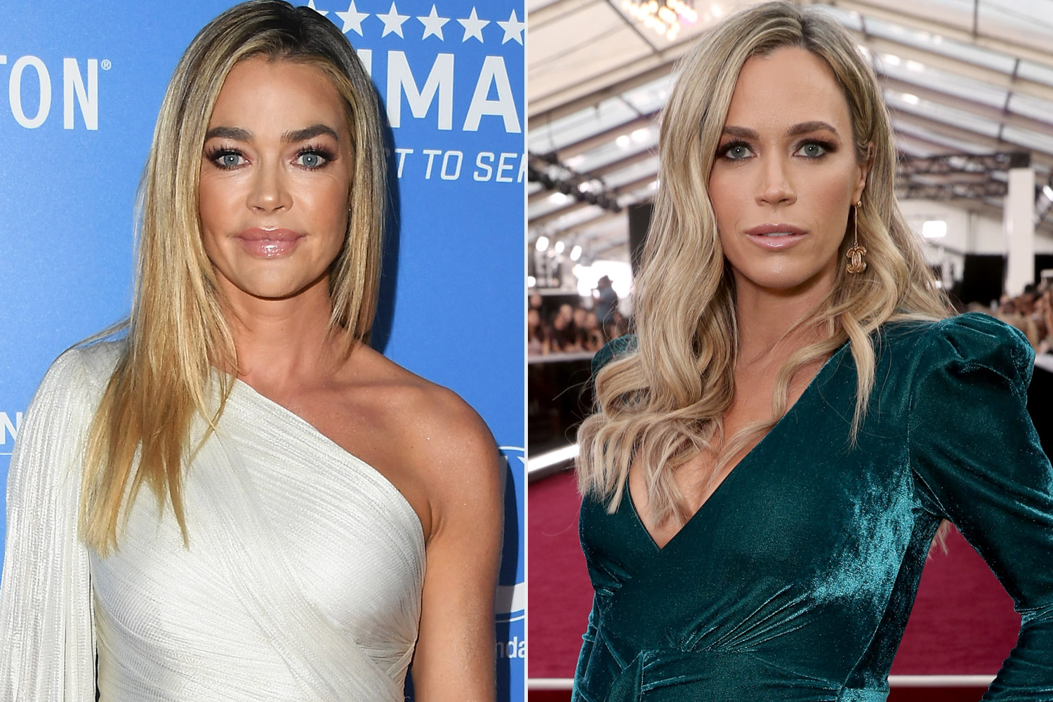 Denise Richards and Teddi Mellencamp