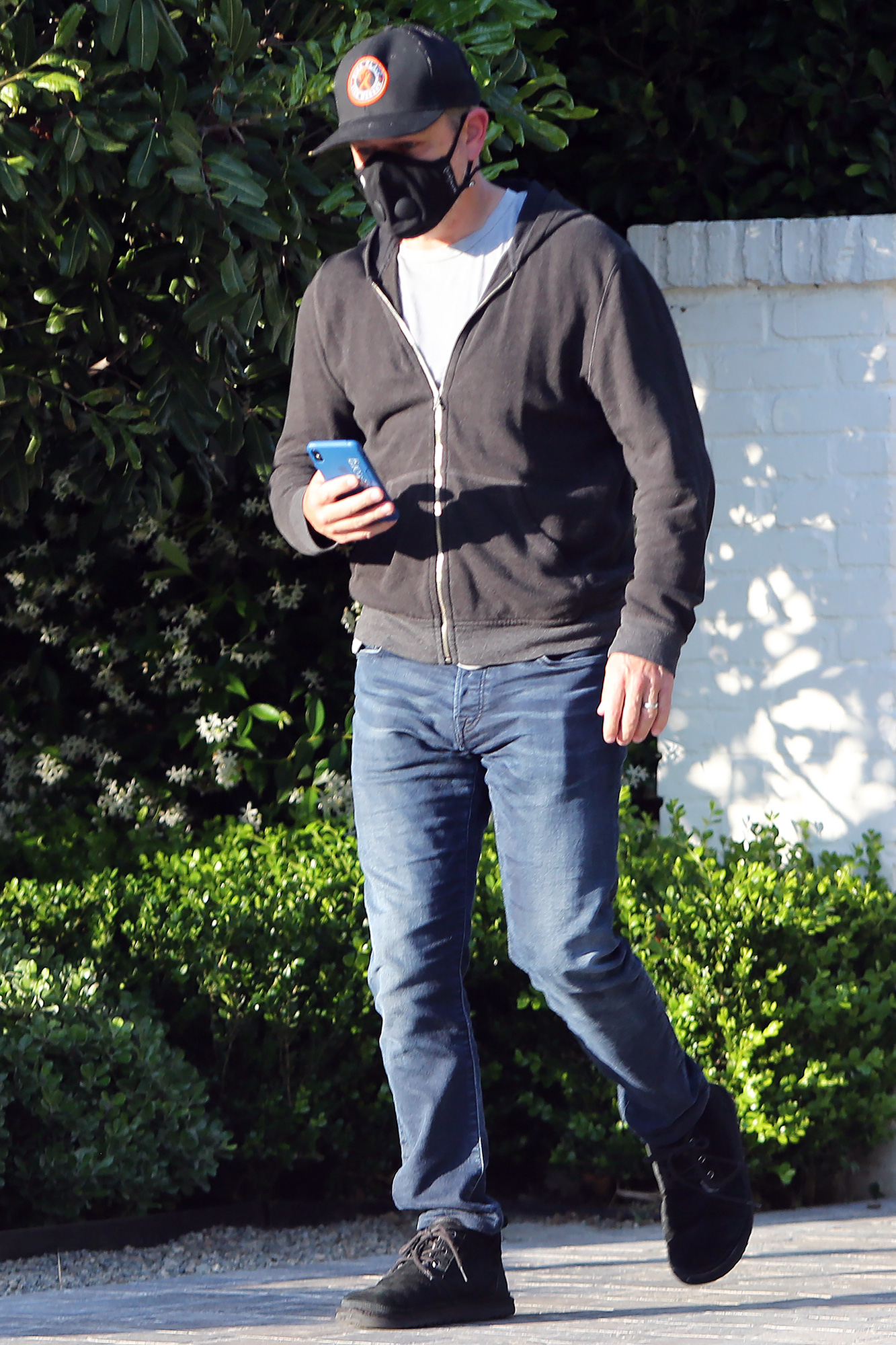 Matt Damon Out And About In Los Angeles