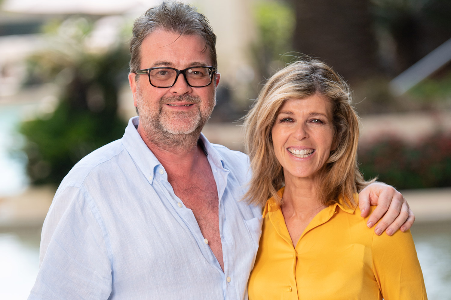 Derek Draper and Kate Garraway