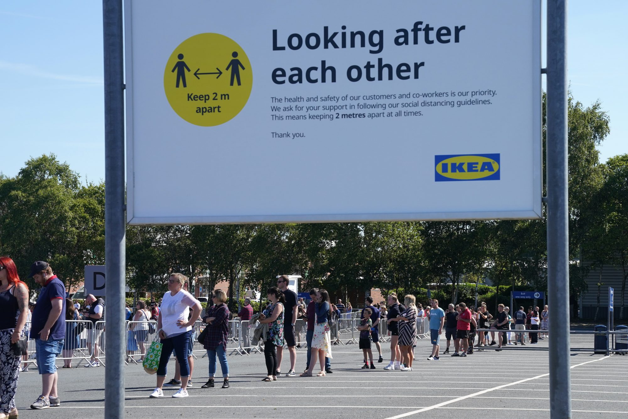 Ikea Reopens Stores In England