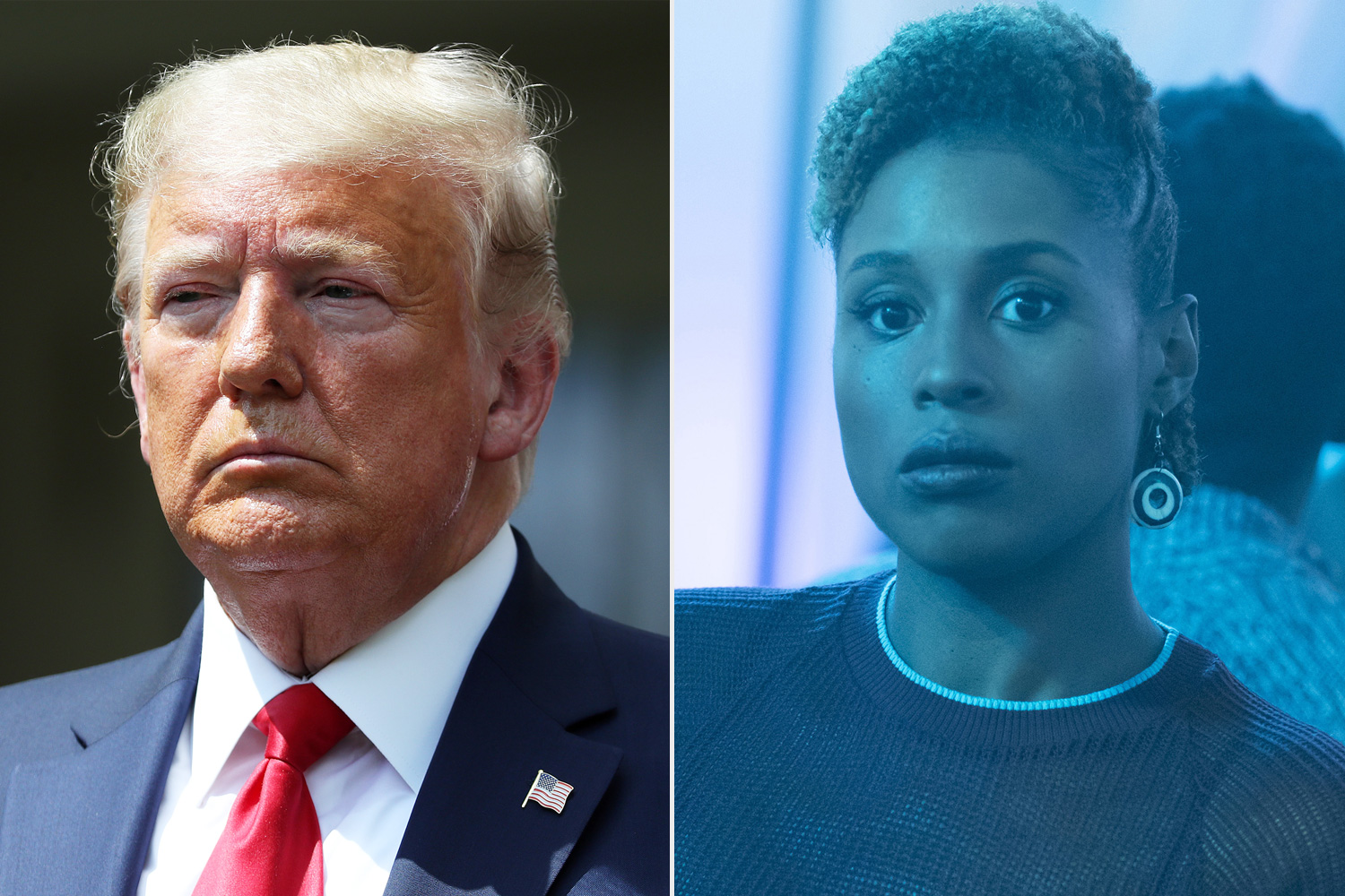 Donald Trump Issa Rae Insecure Twitter