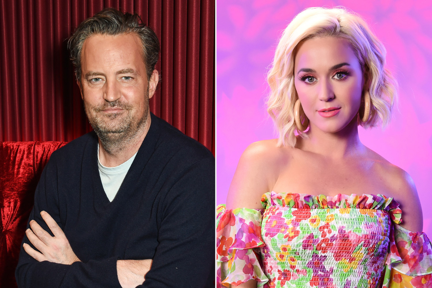 Matthew Perry and Katy Perry