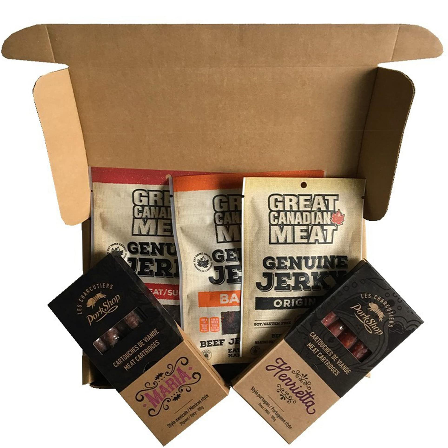 Carnivore Club Cured Meats Snack Subscription Box