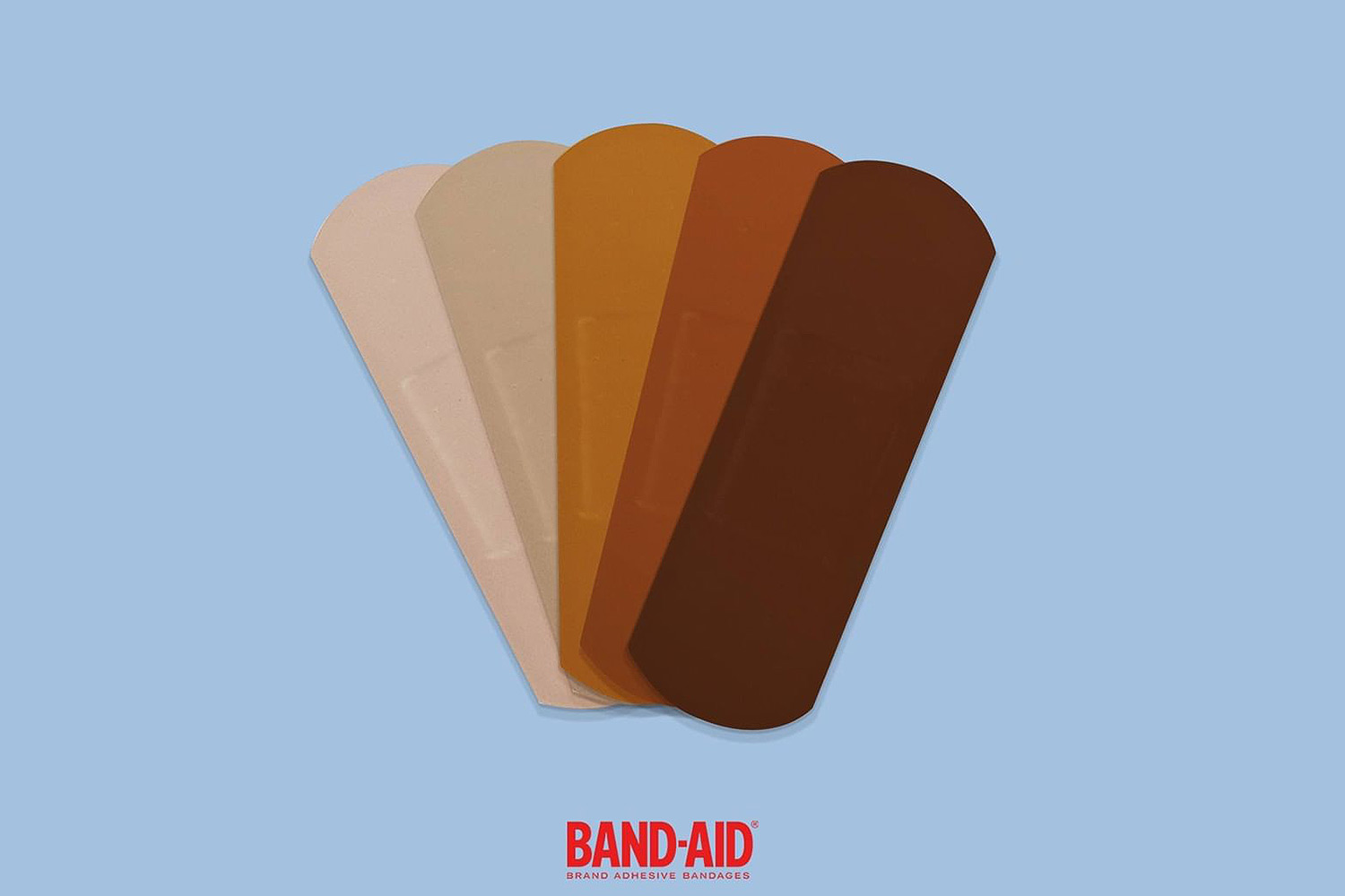 Band-Aid Adding New Line of Bandages to Match Different Skin Tones